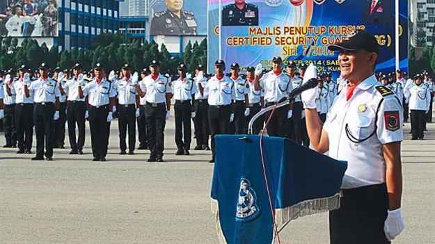 Влада Малайзії намагається підвищити рівень професіоналізму охоронців