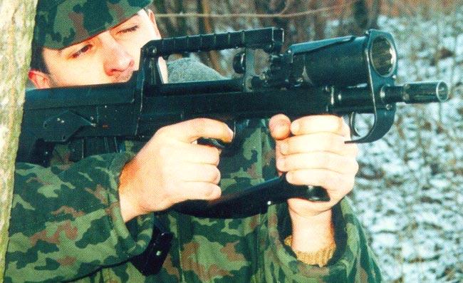 Стрелково-гранатометный комплекс А-91М