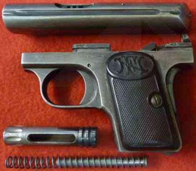arme avec balle