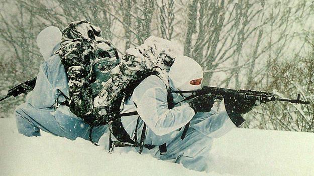 Горнострелковый спецназ Украины