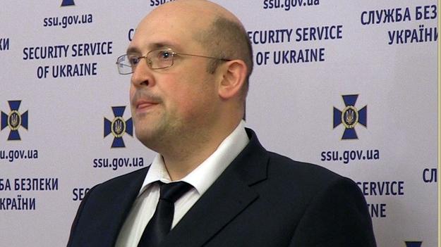 Виталий Найда, начальник Департамента контрразведки в сфере информационной безопасности СБУ