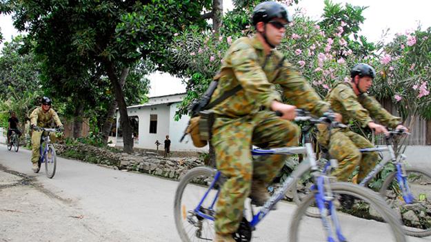 Своих солдат на новые велосипеды