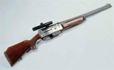 Комбинированное самозарядное ружье