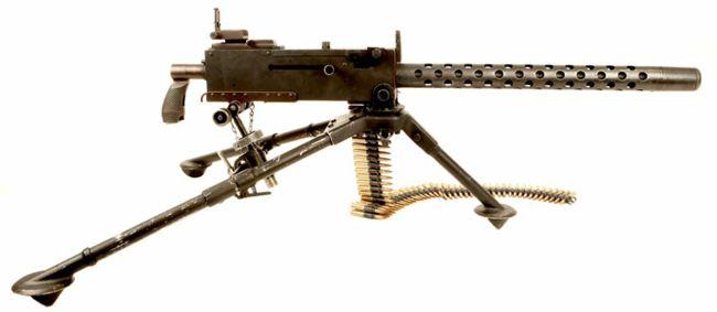 изготовлено материала, американский пулемет второй мировой термобельем