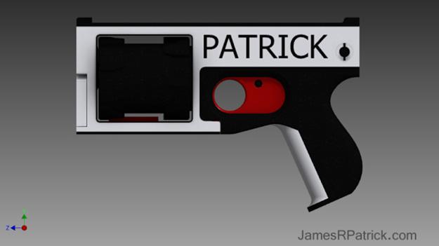 У США випробували надрукований на 3D-принтері револьвер