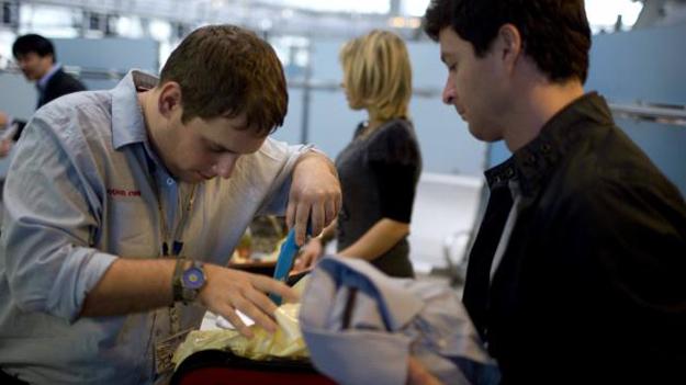 Мелкие грызуны станут незаменимыми помощниками при проверке багажа