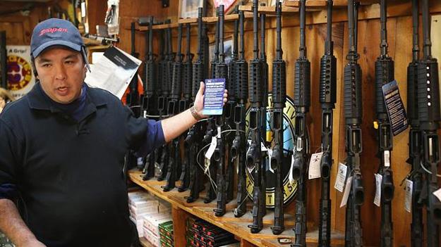 Гвинтівка, що вбиває Америку