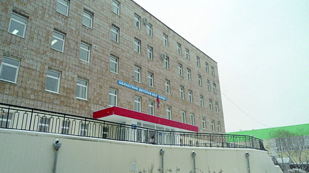 Сотрудники ЧОП проводили в здании больницы учения
