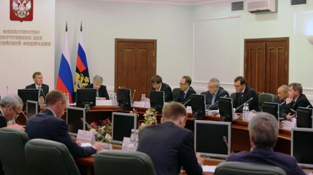 Вопрос безопасности в период подготовки и проведения ЧМ-2018 обсуждался на состоявшемся в МВД России совещании