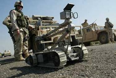 Сучасна армія і її механічні солдати
