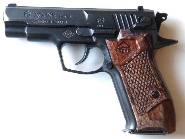 инструкция к пистолету хорхе