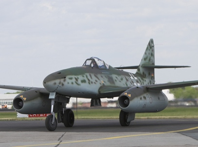Ме-262 - він був першим серійним реактивним винищувачем
