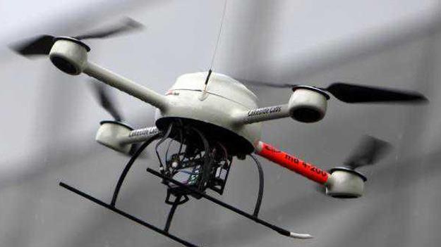 Японці винайшли літаючого робота-охоронця