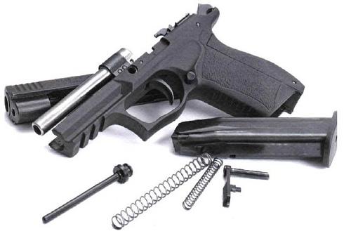 """Пистолеты  """"Гроза """" разработаны на базе украинских пистолетов  """"Форт """" с участием российских специалистов."""