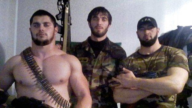 личная охрана кадырова фото