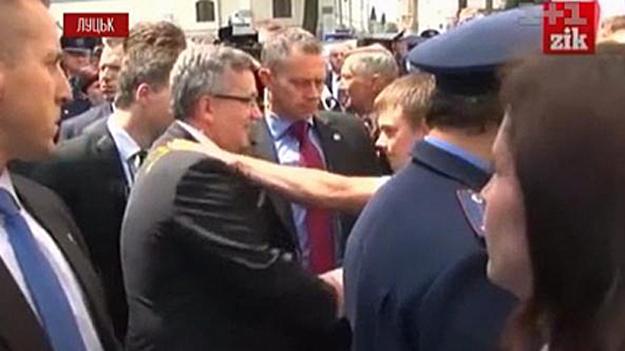 «Яичный инцидент» с президентом Польши стал уроком для Управления государственной охраны Украины