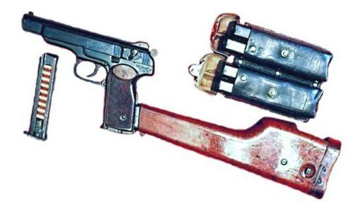 пистолете Стечкина (АПС),