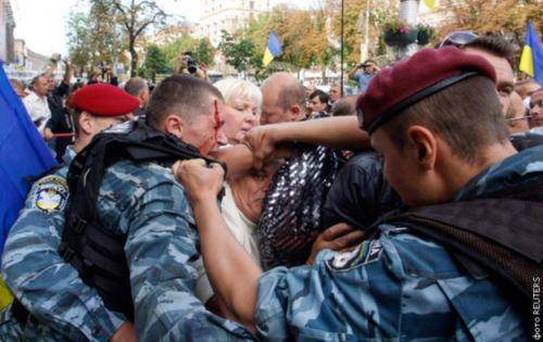 Украинский спецназ - ПМСН «Беркут»