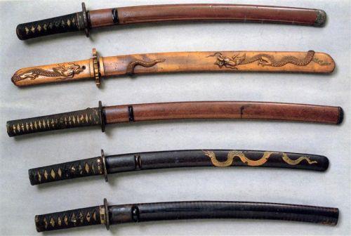 Катана і Вакідзасі. Історія японських мечів