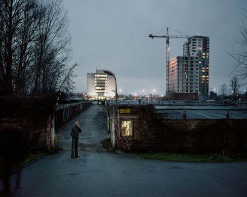 Латвійського художника надихнули будки охоронців