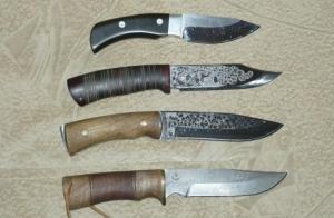 Бойові ножі та інша холодна зброя
