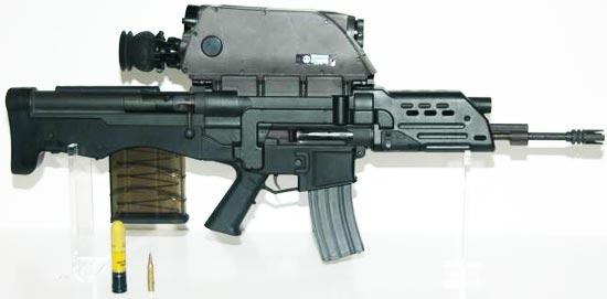 Штурмові комплекси (автоматичні гвинтівки з інтегрованими гранатометами)